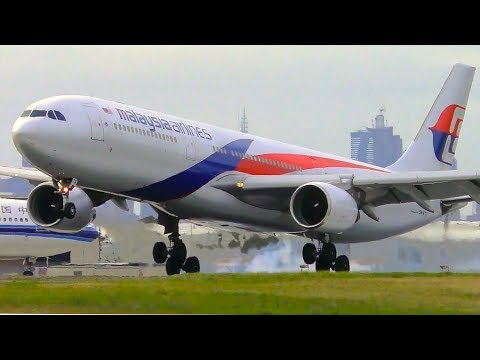 Which Airline Lands The Airbus A330 The BEST? | Melbourne Airport Plane Spotting