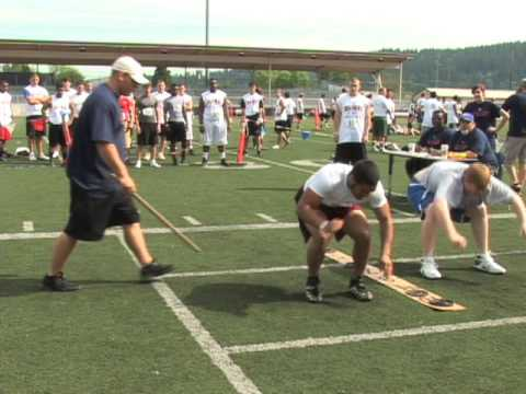 Anthony Meray, RB/DB, Bethel HS, 2009 Competitive Edge Football Combine