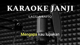Janji a arafiq karaoke (nada cewek)