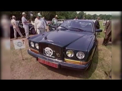 Bentley Drivers Club Concours 1992 Hatfield House