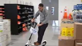 Vern Drives An e-Scooter!