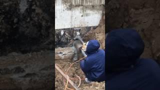 Алмазное сверление отверстия в фундаменте Симферополь