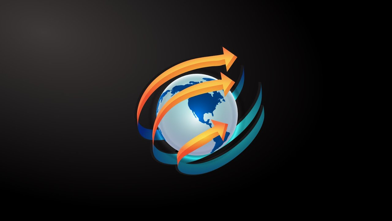 coreldraw how to make a 3d earth globe logo design in corel draw youtube