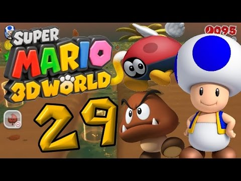 Super Mario 3D World Part 29: Ein Besuch in der Wolkendisco