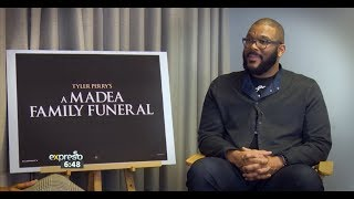 A Madea Family Funeral Interview – Tyler Perry