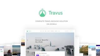 Introducing Travus All In One Travel Agency Joomla Template