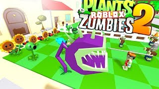 ROBLOX'S MANUFACTURE OF PLANTS VS ZOMBIES!!! - TYCOON OF PLANTS AGAINST ZOMBIES