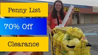 Penny Shopping List for Dollar General October 15, 2019