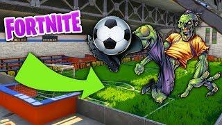 FORTNITE Soccer Field Secret EXPOSED!
