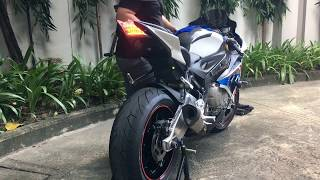 Cat pipe exhaust for S1000rr