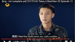 [eng] 20170106 Takes A Real Man S2 Episode 12/14