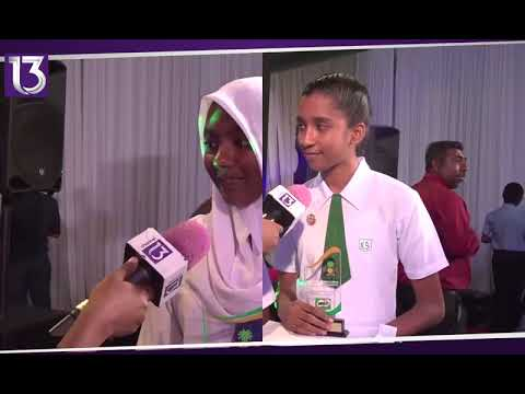 [REPORT]Milo colours award badminton ge qaumee champion ah Nabeehaa ah 24.04.2018