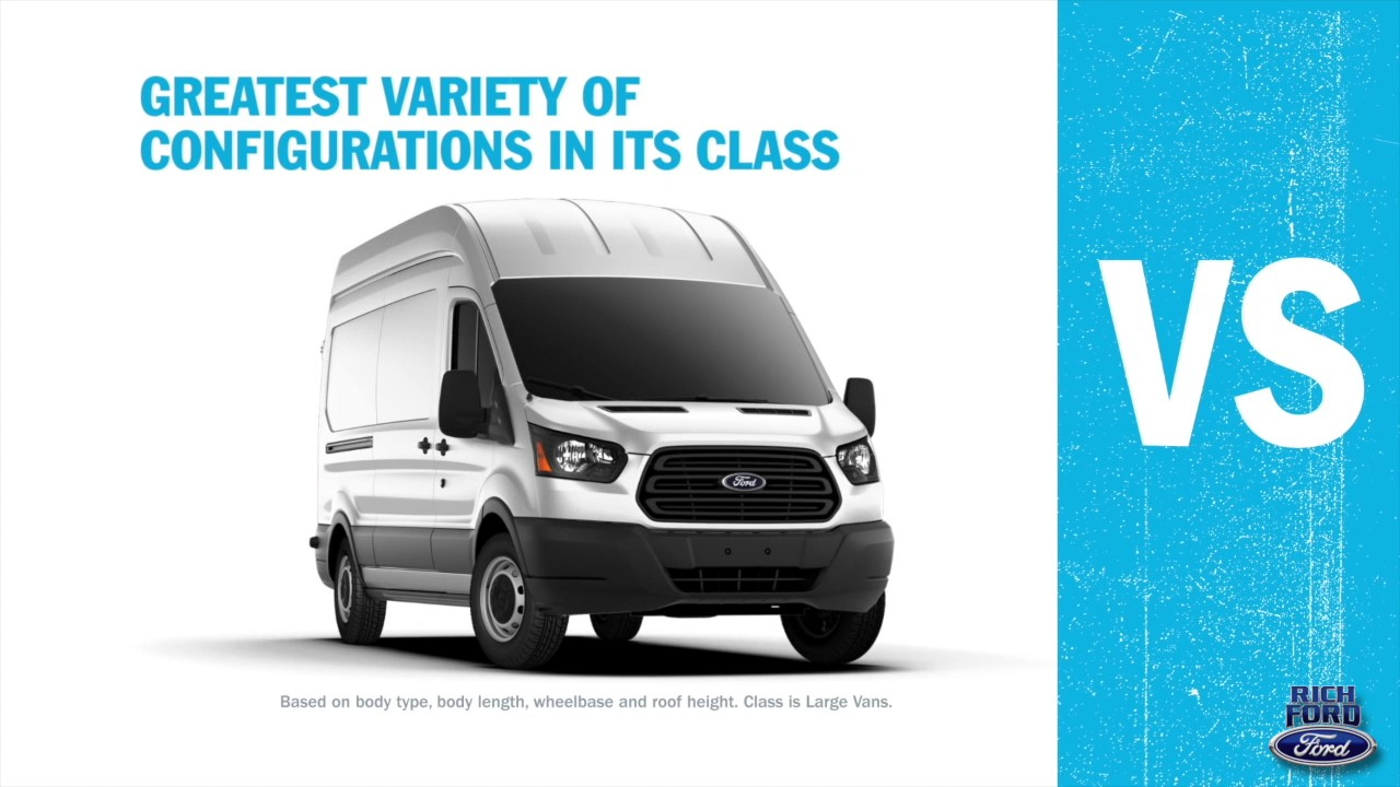 The Ford Transit Vs Chevy Express