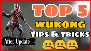 Free Fire || Top 5 Wukong Character Tips and Tricks Free Fire || Best Pro Tips Free Fire -4G Gamers