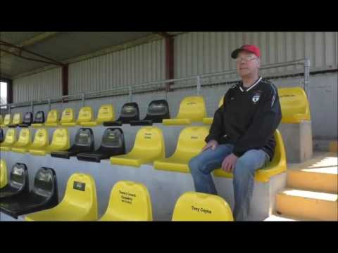 Ballinasloe Town AFC Behind the Scenes at Redevelopment