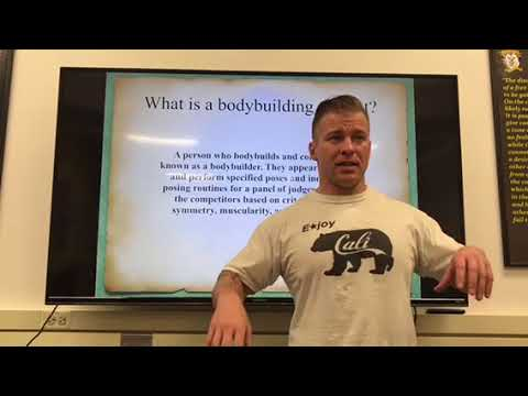 10 Minute Presentation Bodybuilding