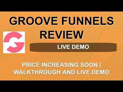 Groove Funnels Review | Price Increase Date | Lifetime Free Account thumbnail