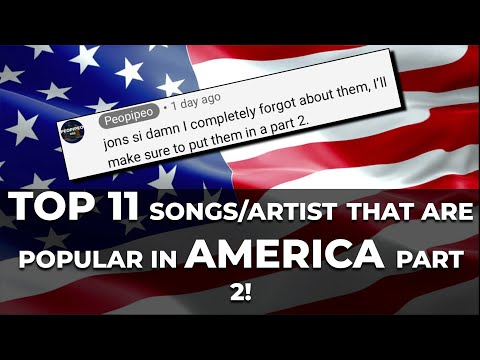 Top 11 Most Popular Songs/artists From Eurovision In United States p2 | THE UNITED STATES OF AMERICA