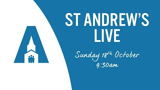 St Andrews's Live: Sunday 18th October 2020, 9:30am