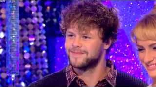 Jay Mcguiness Reaction to Jive Dance Strictly ITT 15/10/15