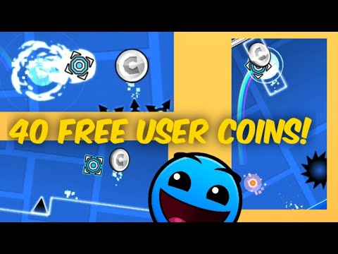 40 FREE SILVER USER COINS! Geometry Dash