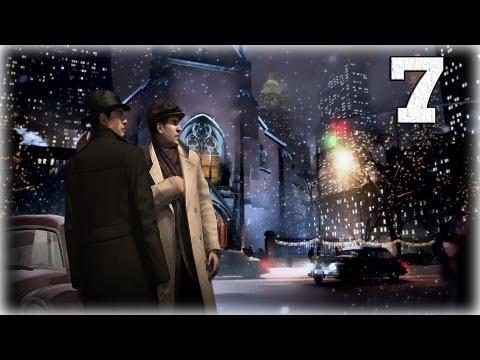 Смотреть прохождение игры Mafia 2. Серия 7 - Пьянка и похороны.
