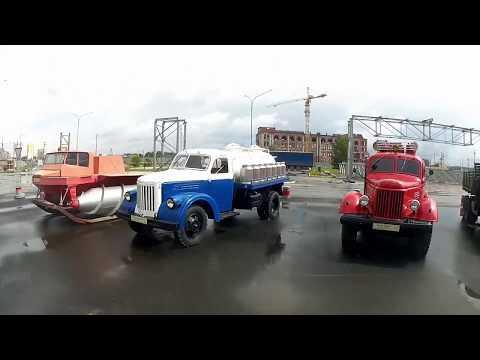 Проездом - Верхняя Пышма- часть 2: музей автомобильной техники УГМК