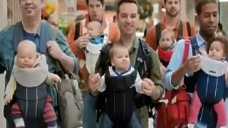 Huggies Snug & Dry Diapers Dads Take On The Mall TV Commercial HD