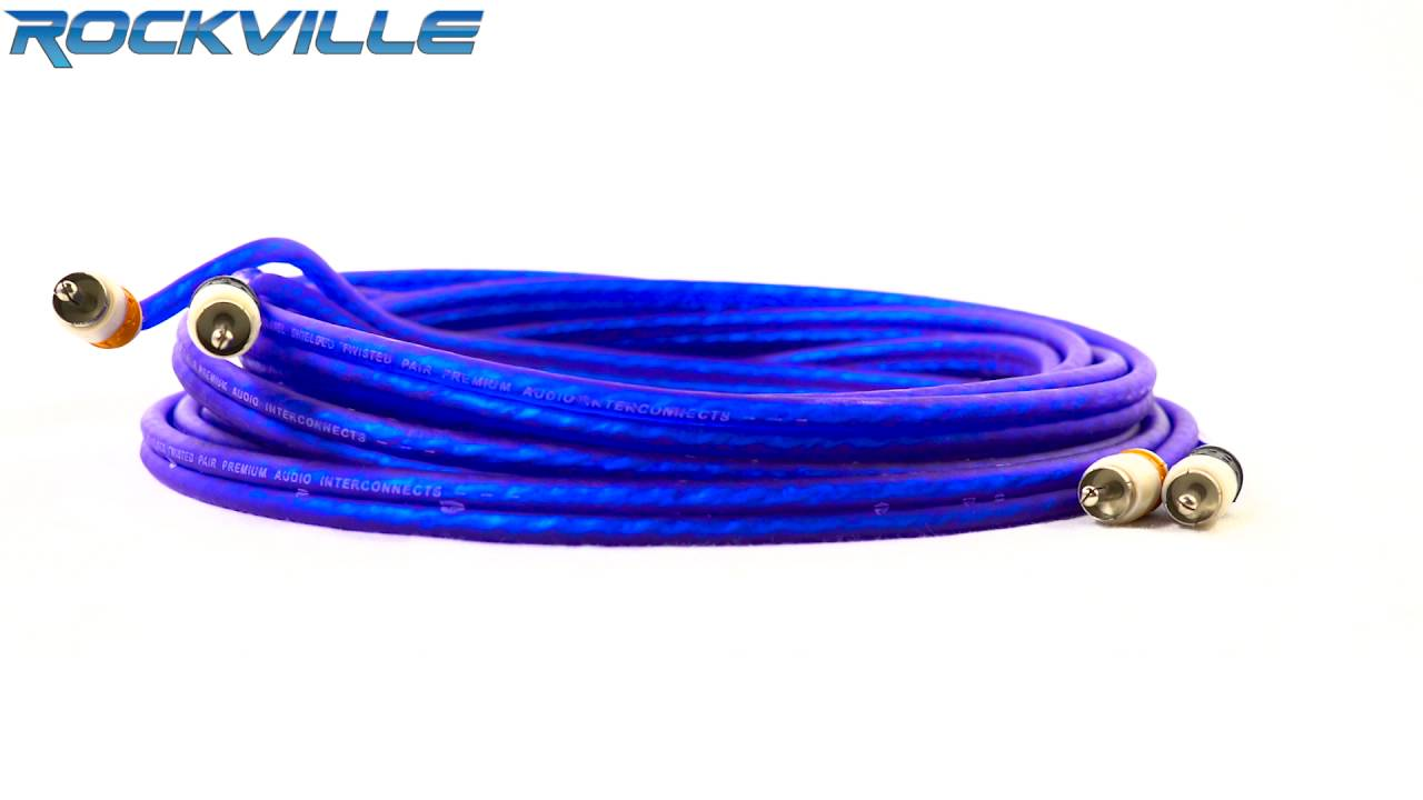 Rockville RDA4+8K Dual 4/8 AWG Car Multi-Amp Installation Wire Kit ...