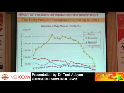 Presentation by Dr Toni Aubynn on Mining Policy Dynamics - 7th WaCA Mining Summit & Expo