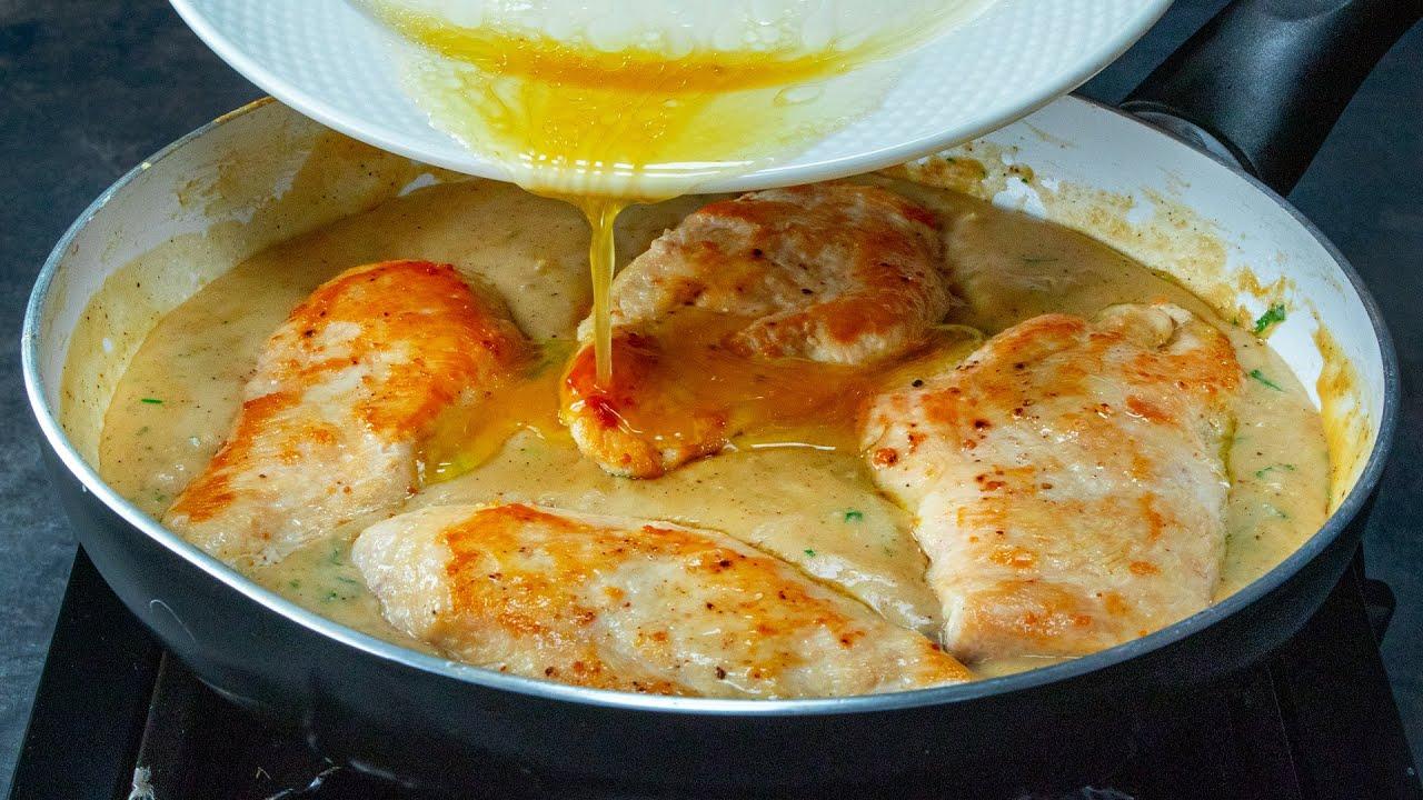 Esta pechuga de pollo suave y jugosa, solo necesita la guarnición perfecta. | Cookrate - Español