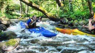 Rzeka Liwa : Szadowski Młyn -Kwidzyn. Spływ kajakowy.