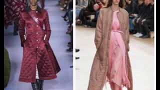 Модная одежда осень-зима 2017 – 2018
