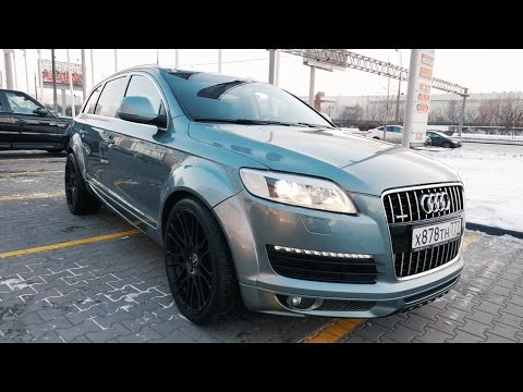 Audi Q7 (2013-2014) - фото, цена, характеристики Ауди Ку...