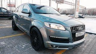 Живой Audi Q7 За 1 Млн.Рублей В Тюнинге Abt И 22 Дисках . Рубрика Бу
