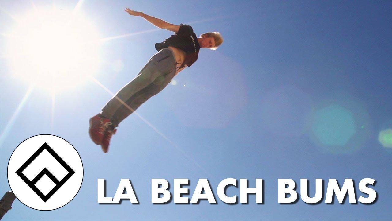 la beach bums team farang freerunning youtube