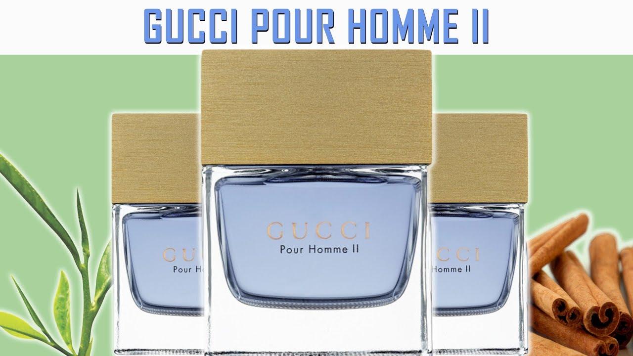 MASTERPIECE DESIGNER   GUCCI POUR HOMME II FRAGRANCE REVIEW - YouTube 093dc37ec2b