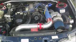 Holden Commodore VR V6 With T70 Turbo. Startup, idle and small revs