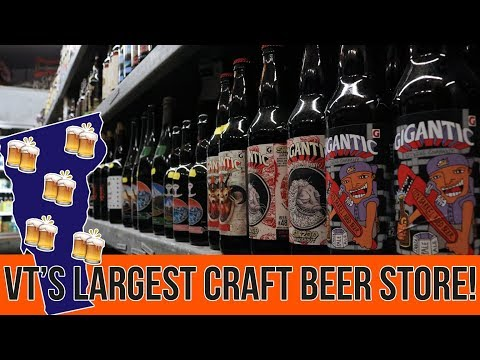 VERMONT CRAFT BEER HEAVEN at Beverage Warehouse | Bonus Beer Nerdery