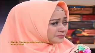 Curhat Dan Tangis Shinta Tanjung Istri Ustadz Zacky Mirza Rumpi No Secret 23 Juni 2016