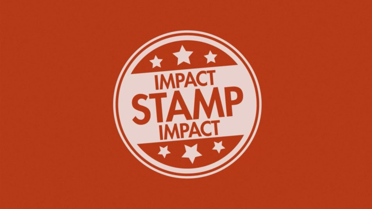 After Effects Video Tutorial Stamp Or Icon Impact