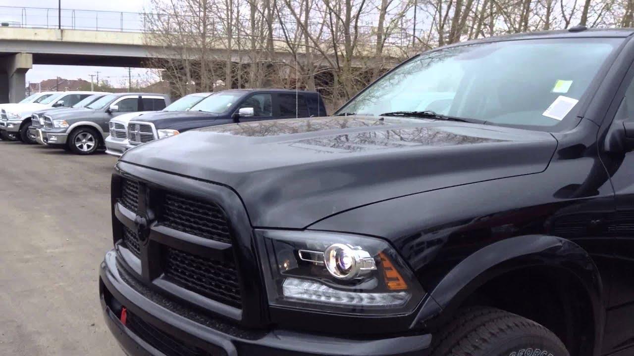 2014 Ram 2500 Laramie Blackout Edition Edmonton Dodge Dealer