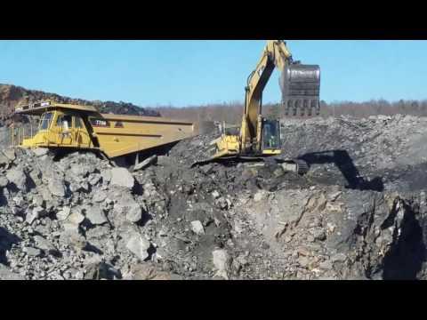 Mining Anthracite coal