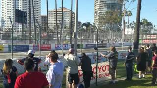 Corvette Accelerating
