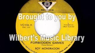 FORBIDDEN GAMES - Boy Mondragon