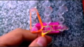 Браслеты из резинок урок √1 браслет