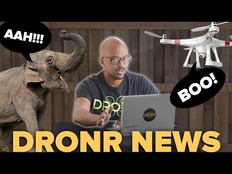 Drones are saving ELEPHANTS in Tanzania!!!