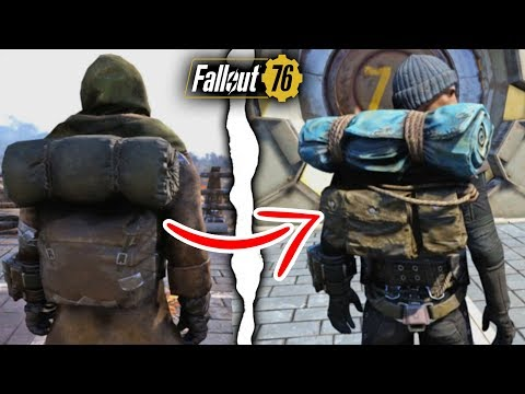 Fallout 76 | Every Single Secret Outfit With a Backpack