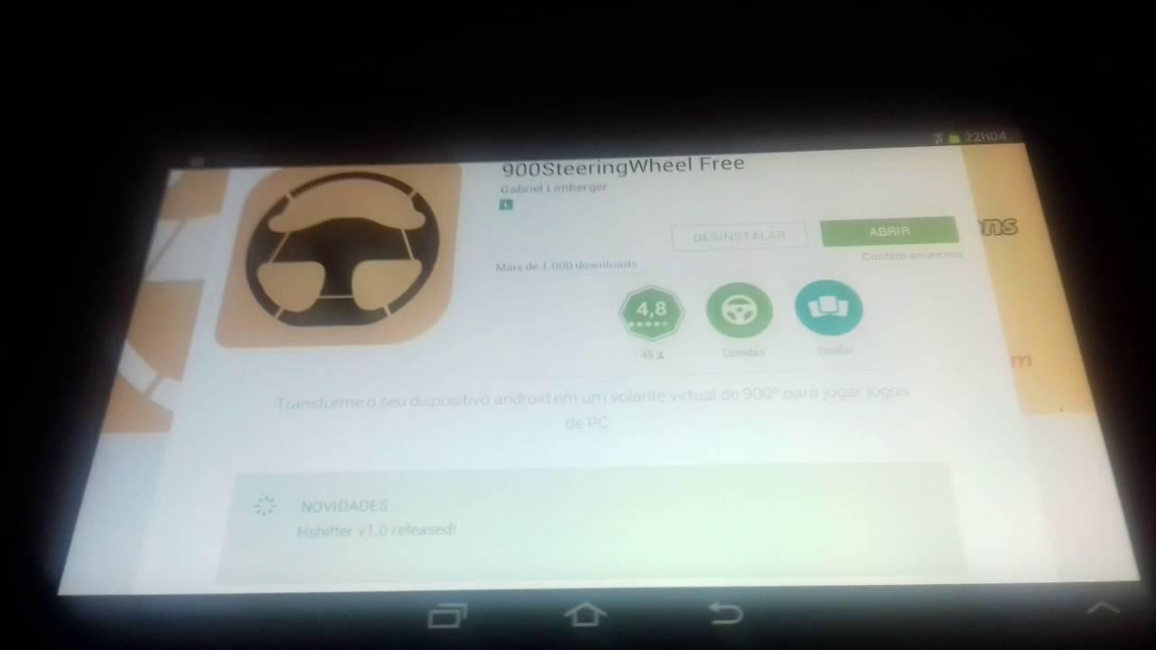 [900SteeringWheel](Parte 1)Como instalar Vjoy Joystick e conectar o  aplicativo