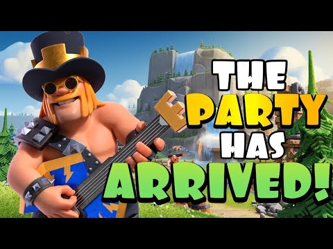 BEST GOLD PASS SKIN YET?! New Party King ROCKS!!!!!!